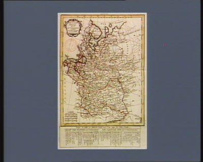 Russie d'Europe divisée par gouvernemens [estampe]