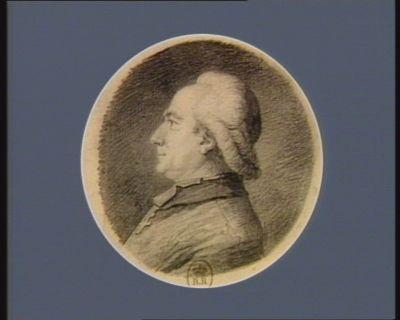 Pierre Louis de La Rochefoucauld né au Viviers le 13 8.bre 1744 évèque de Saintes député de lad. sénéchaussée : [dessin]