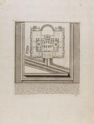 Terme di Diocleziano, pianta