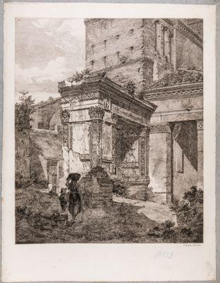 Arco degli Argentari presso S. Giorgio in Velabro