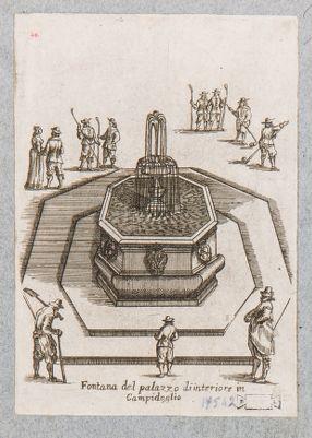 Campidoglio, fontana