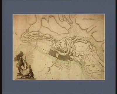 Carte des environs de Commune-affranchie où sont representés les travaux du siege soutenu par cette ville rébelle pendant les mois d'août et de septembre <em>1793</em> : [estampe]