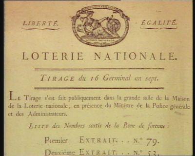 Loterie Nationale [estampe]