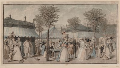 [The  Palais Royal Garden Walk] [estampe]