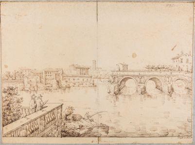 Ponte Rotto o Emilio, resti delle tre arcate