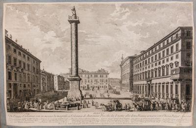 Piazza Colonna e piazza Montecitorio