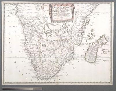 Basse Æthiopie, qui Comprend les Royaume de Congo, Coste, et Pays des Cafres; Empires du Monomotapa, et Monoemugi