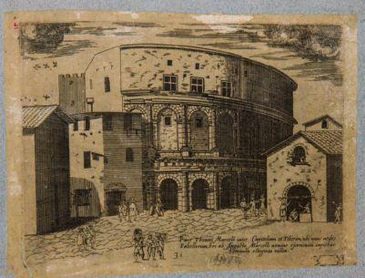 Pars Theatri Marcelli inter Capitolium