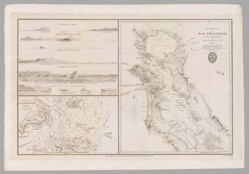 The harbour of San Francisco, Nueva California