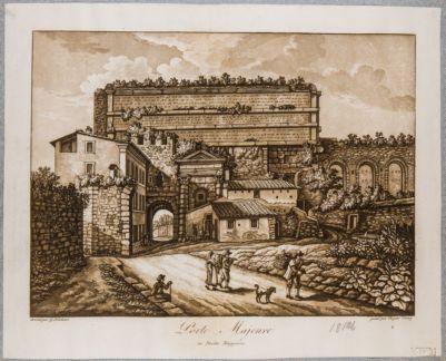Porta Prenestina, veduta generale dall'interno