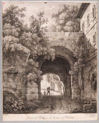 Palatino, resti della Domus Caligulae
