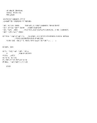 133 sub 770223 sysnam mac 770712 1