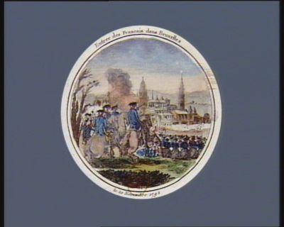 Entrée des Français dans Bruxelles le 20 novembre 1792 : [estampe]