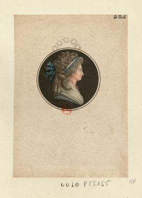 [Marie Thérèse Charlotte de Bourbon] [estampe]