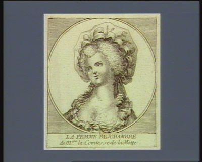 La  Femme de chambre de M.me la comtesse de La Motte [estampe]