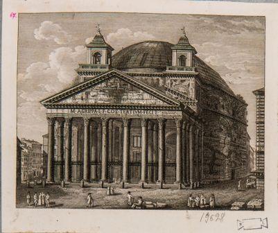 Pantheon visto di fronte