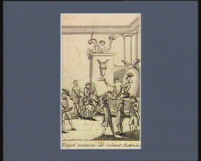 Tripot nocturne du cabinet autrichien [estampe]