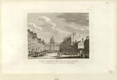 Soupers fraternels dans les sections de Paris les 11, 12 et 13 mai 1793, ou 21, 22 et 23 floréal an 2.e de la Republique : [estampe]