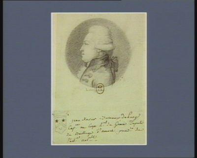 Jean Xavier Bureaux de Pusy cap.ne au Corps m.al du génie député du bailliage d'Amont presid. [ ?] de l'ass.ee nat.alle : [dessin]