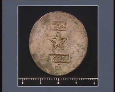 [Monnaie obsidionale de Maëstricht : cinquante stüber] 50 ST ; LE
