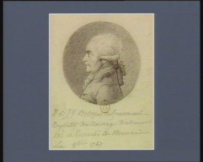 N.B. J.J. Belzais de Courmenil député du baillage d'Alençon né à Ecouché en Normandie : [dessin]