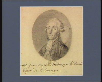 Gabriel Jean-Baptiste Larchevesque-Thibaud député de St Domingue : [dessin]