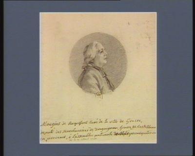 Mougins de Roquefort curé de la ville de Grasse député des sénéchaussées de Draguignan Grasse et Castellane en Provence, à l'Assemblée nationale né le 21 avril 1732 : [dessin]