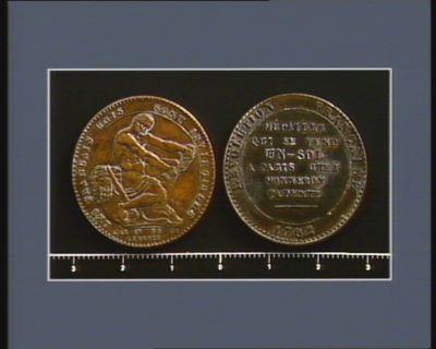 [Monnaie ou médaille de la Révolution française]