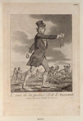 L' Ami de la justice et de l'humanité peuple français peuple de freres ! : [estampe]