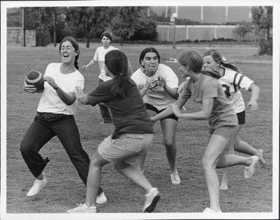 Athletics -- women's football