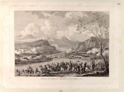 Bataille et passage du Tagliamento le 26 ventose an 5 [estampe]
