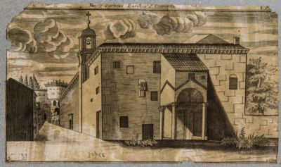 Chiesa di S. Clemente, facciata del quadriportico