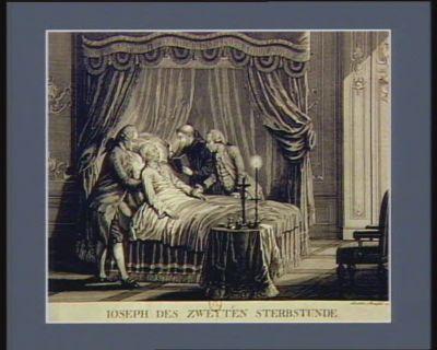 Ioseph des Zweyten Sterbstund [estampe]
