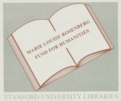 Marie Louise Rosenberg Fund for Humanities