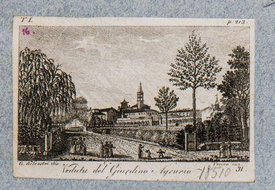 Gianicolo con veduta dell'Orto Botanico