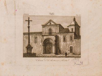 Chiesa di S. Antonio all'Esquilino, esterno