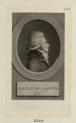 Alexandre Lameth [estampe]