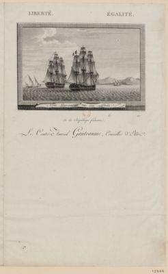Nous gouvernions sur son étoile liberté égalité : le contre amiral Ganteaume, conseiller d'Etat... : [estampe]