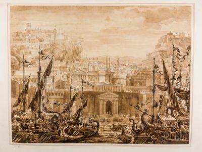 Frontespizio delle Porte Antiche di Roma