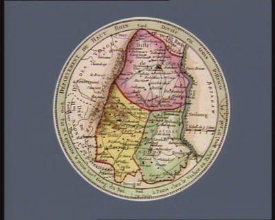 Departement du Haut Rhin divisé en trois districts : [estampe]