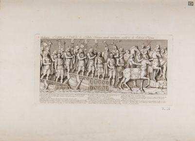 Colonna Traiana, particolare dei bassorilievi