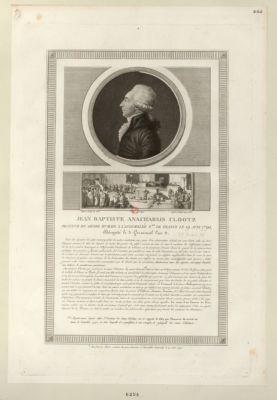 Jean Baptiste Anacharsis Clootz orateur du genre humain [estampe]