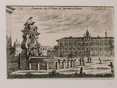 Fontana di S. Giovanni in Laterano a Roma