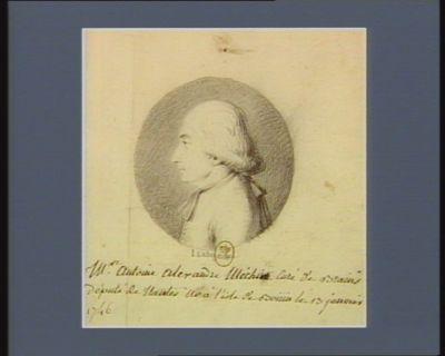 M.re Antoine Alexandre Méchin curé de Brains député de Nantes né a l'Isle de Boüin le 13 janvier 1746 : [dessin]