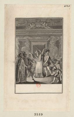 [Charles IX ] [acte IV, scène 6] : [estampe]