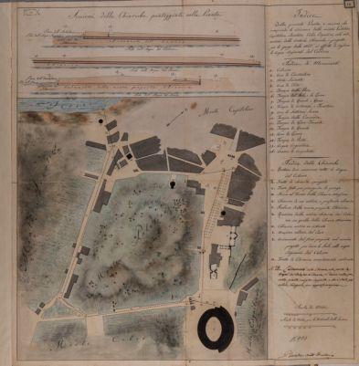Palatino, Studio del terreno e della disposizione delle chiaviche