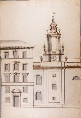Chiesa di S. Maria del Popolo. Campanile, progetto