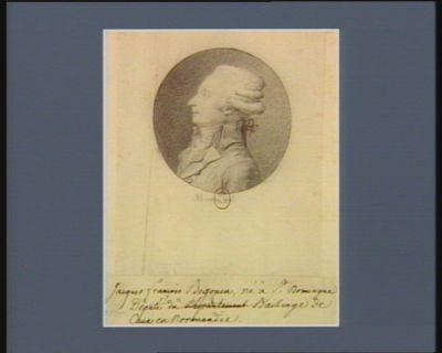 Jacques François Begouen né à St Domingue député du bailliage de Caux en Normandie : [dessin]