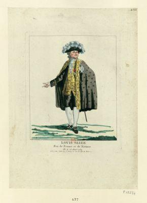 Louis seize roi de France et de Navarre né le 23 aout 1754 : [estampe]