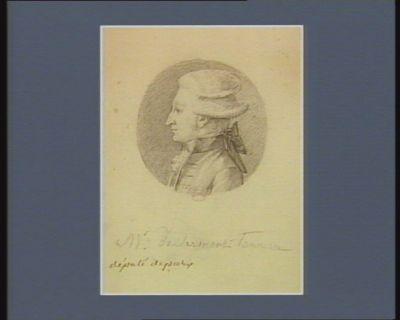 M. de Clermont-Tonnerre député de Paris [dessin]